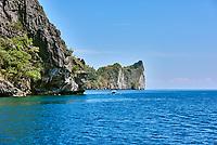 Cadlao island El Nido in Palawan Philippines