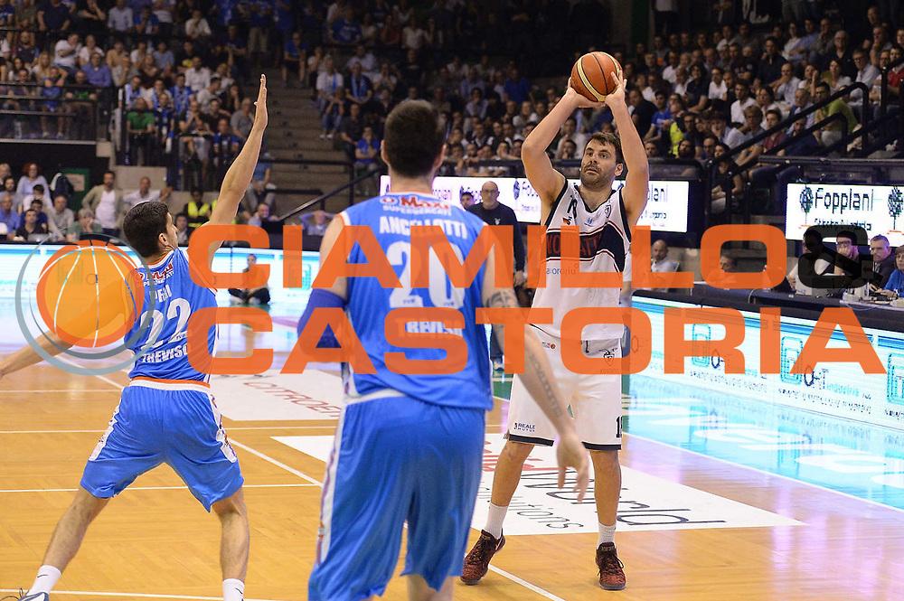 Gandini<br /> Treviso 17 Maggio  2017 -<br /> Campionato Basket Legadue - Play Off quarti Gara 2 - Treviso Basket  vs Kontatto Fortitudo Bologna<br /> Foto Ciamillo/Michele Gregolin
