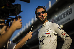 October 17, 2018 - Valencia, Spain - VERGNE Jean-Eric (fra), DS TECHEETAH Team portrait during the Formula E official pre-season test at Circuit Ricardo Tormo in Valencia on October 16, 17, 18 and 19, 2018. (Credit Image: © Xavier Bonilla/NurPhoto via ZUMA Press)