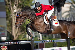 Rodriguez Andres (VEN) - Caballito<br /> Final First Competition<br /> Furusiyya FEI Nations Cup™ Final - Barcelona 2014<br /> © Dirk Caremans<br /> 09/10/14