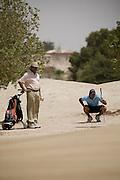 Abu Dhabi, United Arab Emirates (UAE). March 20th 2009.<br /> Al Ghazal Golf Club.<br /> 36th Abu Dhabi Men's Open Championship.<br /> Miki Mirza