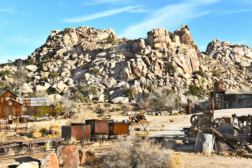 Keys Ranch Overview at Joshua Tree National Park