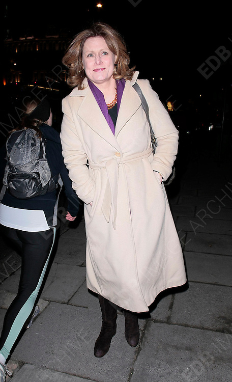 08.DECEMBER.2010. LONDON<br /> <br /> SARAH BROWN ARRIVING AT THE MANDARIN HOTEL IN KNIGHTSBRIDGE FOR PIERS MORGAN'S LAUNCH PARTY FOR HIS NEW TV SHOW ON CNN.<br /> <br /> BYLINE: EDBIMAGEARCHIVE.COM<br /> <br /> *THIS IMAGE IS STRICTLY FOR UK NEWSPAPERS AND MAGAZINES ONLY*<br /> *FOR WORLD WIDE SALES AND WEB USE PLEASE CONTACT EDBIMAGEARCHIVE - 0208 954 5968*