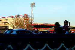 A general view of the City Ground, home of Nottingham Forest - Mandatory by-line: Robbie Stephenson/JMP - 25/02/2019 - FOOTBALL - The City Ground - Nottingham, England - Nottingham Forest v Derby County - Sky Bet Championship