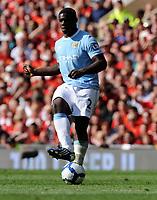 Fotball<br /> England<br /> Foto: Fotosports/Digitalsport<br /> NORWAY ONLY<br /> <br /> Micah Richards<br /> Manchester City 2009/10<br /> Manchester United V Manchester City (4-3) 20/09/09<br /> The Premier League