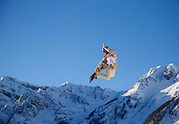 Snowboarding: 2014 Winter Olympics: USA Charles Guldemond in action during Men's Snowboard Slopestyle qualifying at PSX - Rosa Khutor Extreme Park. Krasnaya Polyana, Russia 2/6/2014 CREDIT: Jed Jacobsohn (Photo by Jed Jacobsohn /Sports Illustrated)