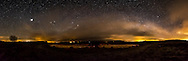 300 degree panoramic view of the night sky at Beaghmore Stone Circles. The weather was very changeable and I had to wait until 4am to get this shot, but it was well worth it! Image composed of 11 photos at 10mm in portrait orientation with settings of f/3.5 ISO6400 30s exposure.