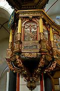 Goslar Altstadt, UNESCO-Welterbestätte....Marktkirche innen, Kanzel