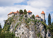 The medieval Bled Castle (Slovene: Blejski grad, German: Burg Veldes) was built a little before 1011 AD on a cliff above Lake Bled, above the city of Bled, in what is now Slovenia, Europe.