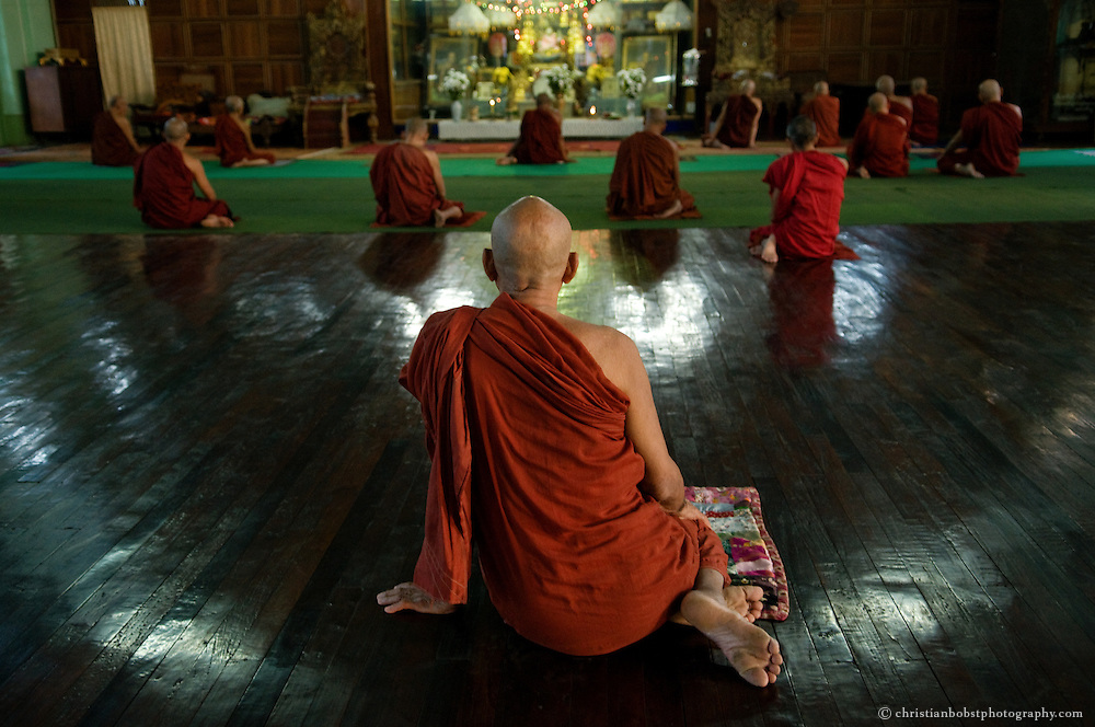 Monks, Mynamar/Burma