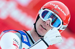 03.01.2016, Bergisel Schanze, Innsbruck, AUT, FIS Weltcup Ski Sprung, Vierschanzentournee, Bewerb, im Bild Andreas Wank (GER) // Andreas Wank of Germany reacts after his Competition Jump of Four Hills Tournament of FIS Ski Jumping World Cup at the Bergisel Schanze, Innsbruck, Austria on 2016/01/03. EXPA Pictures © 2016, PhotoCredit: EXPA/ JFK