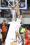 DESCRIZIONE : Roma Campionato Lega A 2013-14 Acea Virtus Roma Grissin Bon Reggio Emilia <br /> GIOCATORE :  Hosley Quinton<br /> CATEGORIA : controcampo schiacciata<br /> SQUADRA : Acea Virtus Roma<br /> EVENTO : Campionato Lega A 2013-2014<br /> GARA : Acea Virtus Roma Grissin Bon Reggio Emilia <br /> DATA : 22/12/2013<br /> SPORT : Pallacanestro<br /> AUTORE : Agenzia Ciamillo-Castoria/M.Simoni<br /> Galleria : Lega Basket A 2013-2014<br /> Fotonotizia : Roma Campionato Lega A 2013-14 Acea Virtus Roma Grissin Bon Reggio Emilia <br /> Predefinita :