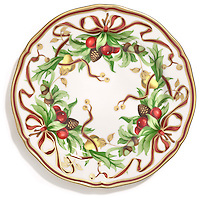tiffany collectible christmas plate
