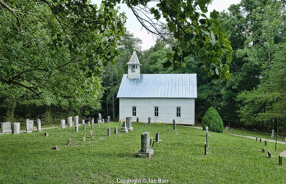 Primitive Baptist church, Cades Cove,Tennessee.