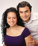 Engagement couple photo