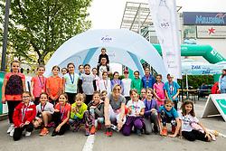 Igrajmo tenis, teniski dogodek za promocijo tenisa med otroki, on May 18, 2019, in BTC, Ljubljana, Slovenia. Photo by Vid Ponikvar / Sportida
