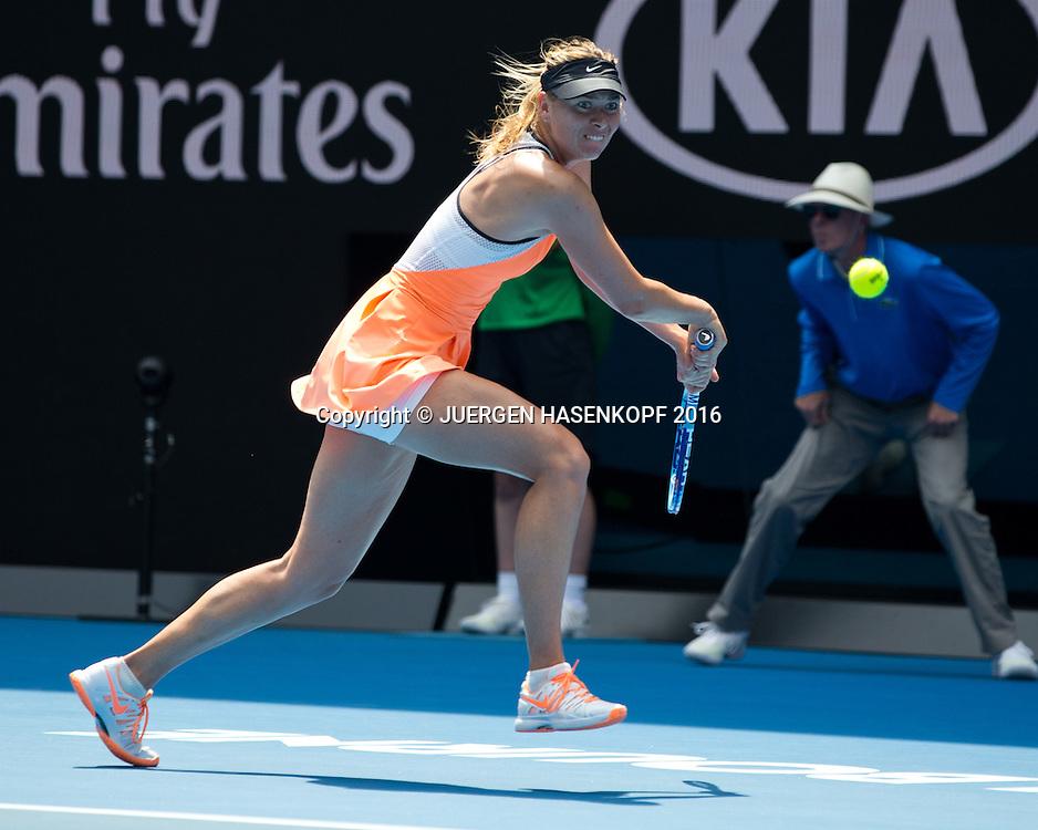 Maria Sharapova, Australian Open 2016<br /> <br /> Tennis - Australian Open 2016 - Grand Slam ITF / ATP / WTA -  Melbourne Park - Melbourne - Victoria - Australia  - 26 January 2016.