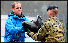 FEB 14 2014 Prince William and Harry help in the floods