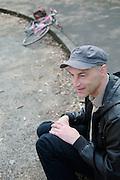 Graeme Obree in Glasgow  18.4.2011