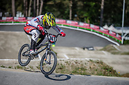 /w367/ during practice at Round 5 of the 2018 UCI BMX Superscross World Cup in Zolder, Belgium