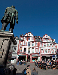 View of Jesuitenplatz or Jesuit Square in Koblenz Germany