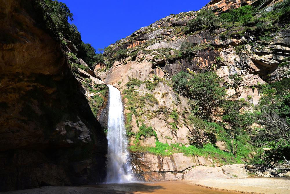 La Pajcha waterfall near Samaipata, Santa Cruz, Bolivia