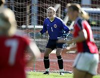 Fotball, 26. juli 2005, U21 damer, Åpent nordisk mesterskap, finale, Norge- USA 1-4,   Christine Columbo Nilsen, Norge