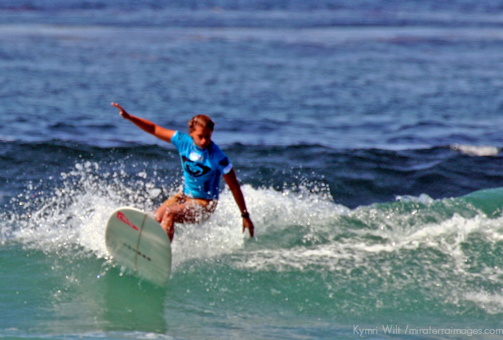 Jen Smith, 2nd Place finalist winner of the 3rd Annual Roxy Jam Linda Benson Women's World Longboard Professional, 2008, Cardiff by the Sea, California.