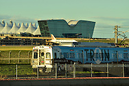 "Opening weekend of the new RTD Denver International Airport to downtown Denver ""University of Colorado A-Line"" rail service.  #TrainToThePlane #CUALine"