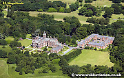 aerial photograph of Allerton Park Liverpool Merseyside England  UK