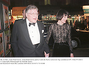 Mr. & Mrs. Jean Paul Getty. Jean-Paul Getty party. Cafe de Paris, Leicester Sq. London.6/3/97. Film 97136f11<br />