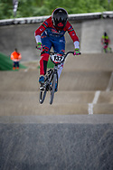 #132 (SMITH Jessie) NZL at Round 5 of the 2019 UCI BMX Supercross World Cup in Saint-Quentin-En-Yvelines, France