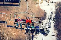Skiing at Massanutten in the Shenandoah Vally.