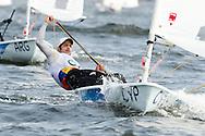 2016 Olympic Sailing Games-Rio-Brazil, ANP Copyright Olympische Spelen Zeilen, ls-CYP- Pavlos Kontides- Laser Standaard