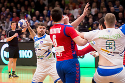 Marko Bezjak of Slovenia during Handball friendly match before EURO 2018 between Slovenia and Serbia, on January 10, 2018 in Rdeca dvorana, Velenje, Slovenia. Photo by Urban Urbanc / Sportida