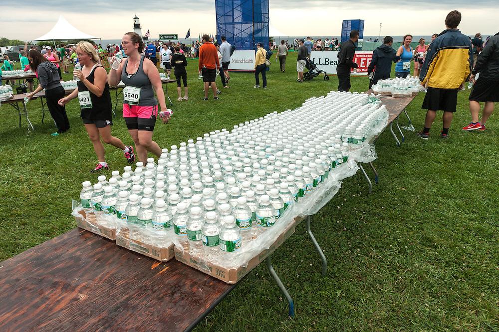 Beach to Beacon 10K road race: Poland Springs water