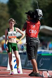 GOUWS Liezel, RSA, 400m, T37, 2013 IPC Athletics World Championships, Lyon, France