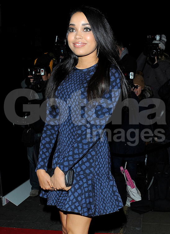Dionne Bromfield attends the YSL Beauty: YSL Loves Your Lips party at The Boiler House,The Old Truman Brewer in London, UK. 20/01/2015<br />