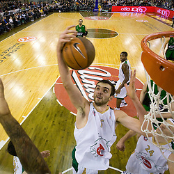 20081204: Basketball - Euroleague, Union Olimpija vs Joventut