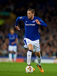 LIVERPOOL, ENGLAND - Thursday, September 28, 2017: Everton's Glyfi Sigurdsson during the UEFA Europa League Play-Off 1st Leg match between Everton and Apollon Limassol FC at Goodison Park. (Pic by David Rawcliffe/Propaganda)