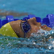 Stephanie Rice, Australia, training at the Aquatic Centre at Olympic Park, Stratford during the London 2012 Olympic games preparation at the London Olympics. London, UK. 25th July 2012. Photo Tim Clayton