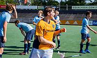 AMSTELVEEN -  keeper Bart de Nie. finale Laren JA1- HC Rotterdam JA1. Laren wint de titel Jongens A . finales A en B jeugd  Nederlands Kampioenschap.  COPYRIGHT KOEN SUYK