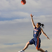 Mrs. Basketball Vanessa Hutson of Brighton High school Photo taken Saturday, March 12, 2005. August Miller/ Deseret Morning News DIGITAL PHOTOGRAPH