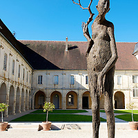 Abbaye d'Auberive is a historic Cistercian abbey and a modern exhibition space for artwork.
