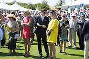 JAKE WARREN; ZARA PHILLIPS, Glorious Goodwood. Thursday.  Sussex. 3 August 2013