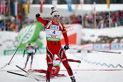 10.12.2011, Biathlonzentrum, Hochfilzen, AUT, E.ON IBU Weltcup, 2. Biathlon, Hochfilzen, Verfolgung Herren, im Bild Svendsen Emil Hegle (NOR) feiert seinen sieg // during E.ON IBU World Cup 2th Biathlon, Hochfilzen, Austria on 2011/12/10. EXPA Pictures © 2011. EXPA Pictures © 2011, PhotoCredit: EXPA/ nph/ Straubmeier..***** ATTENTION - OUT OF GER, CRO *****
