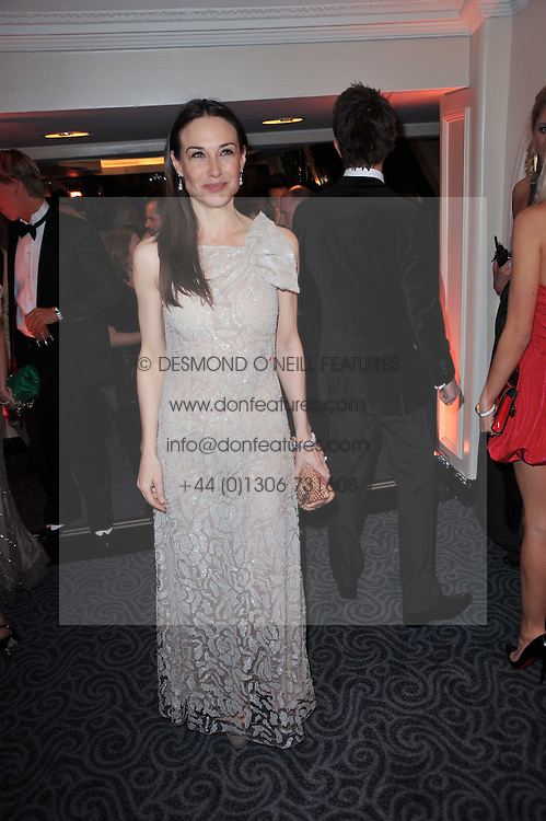 CLAIRE FORLANI at Quintessentially's 10th birthday party held at The Savoy Hotel, London on 13th December 2010.