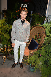 OLIVER CHESHIRE at the Piaget Mediterranean Garden Summer Party held at Piaget, 169 New Bond Street, London on 15th July 2015.