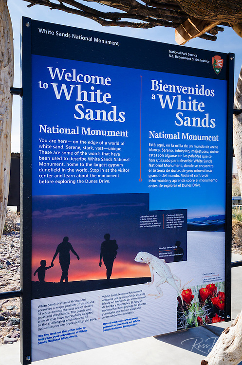 White Sands National Monument, New Mexico USA