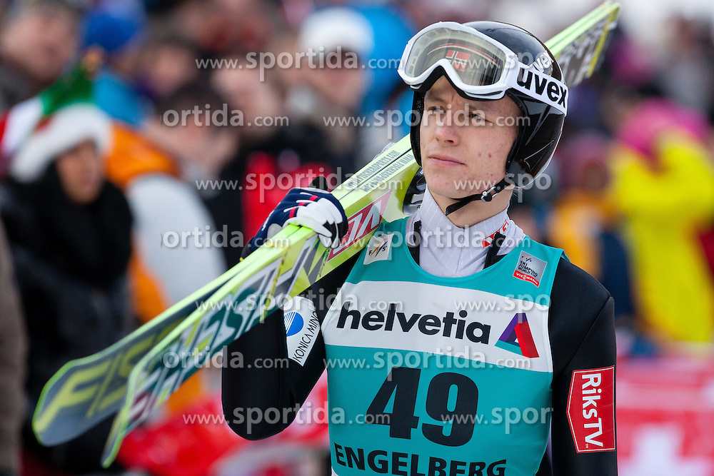 22.12.2013, Gross Titlis Schanze, Engelberg, SUI, FIS Ski Jumping, Engelberg, Herren, im Bild Rune Velta (NOR) // during mens FIS Ski Jumping world cup at the Gross Titlis Schanze in Engelberg, Switzerland on 2013/12/22. EXPA Pictures &copy; 2013, PhotoCredit: EXPA/ Eibner-Pressefoto/ Socher<br /> <br /> *****ATTENTION - OUT of GER*****
